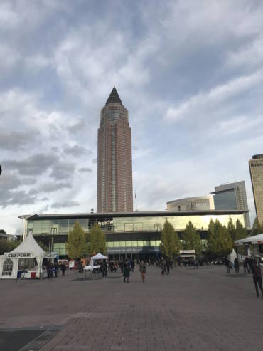 Paris à Frankfort at the Frankfurt Book Fair 2017